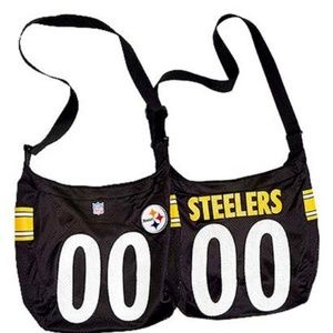 Steelers Jersey Crossbody Strap Bag